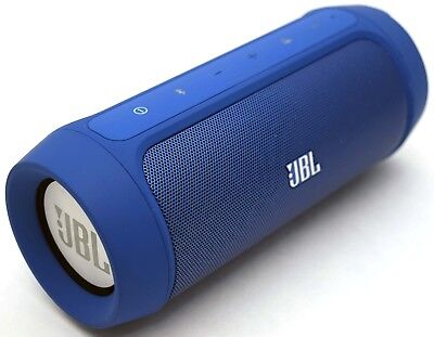 JBL Charge 2 BLUE Phone/Tablet/Microphone Wireless Bluetooth Speaker+PowerBank C