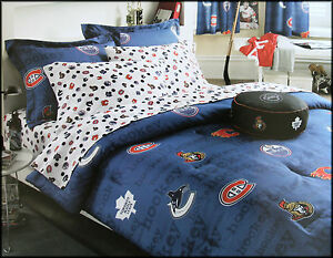 Nhl Hockey Comforter For Twin Or Double Bed Best Price