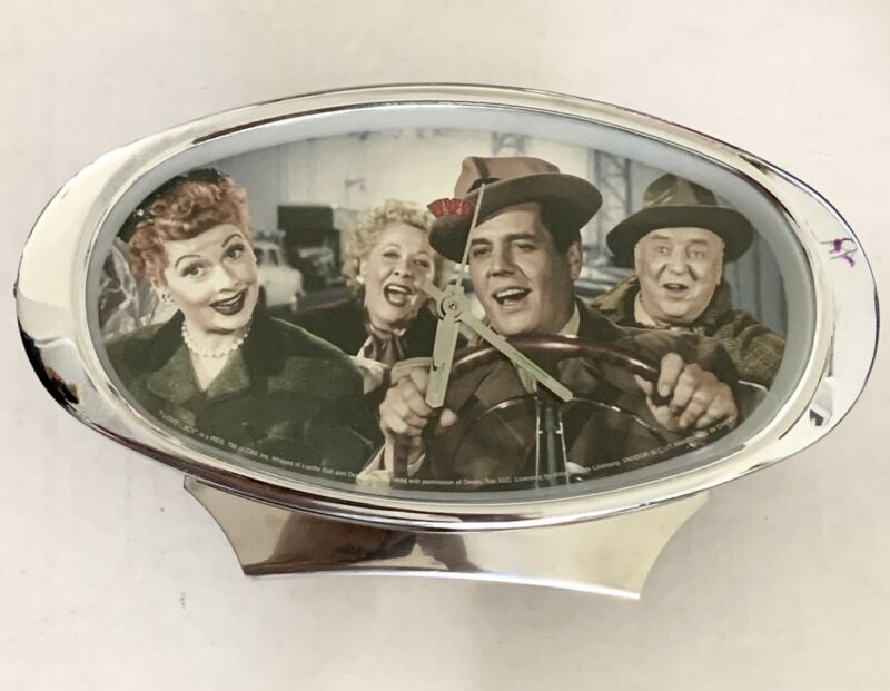 I Love Lucy Wind Up Table Top Oval Alarm Clock California Here We Come