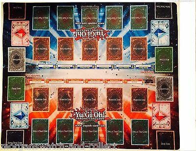 YuGiOh SECRETS OF ETERNITY Card Game Promo Playmat *NEW* 2-Player 20x24 SECE