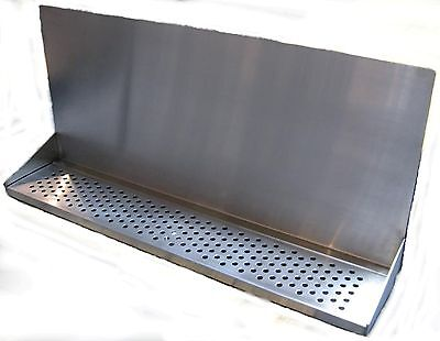 Draft Beer Tower Wall Mt Drip Tray 30 Long W S.s. Grill - Drain Dtwm30ss