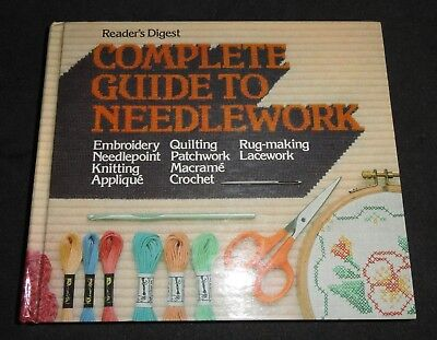 1979 Readers Digest Complete Guide To Needlework  QUILTING CROCHET  for sale  Shipping to India
