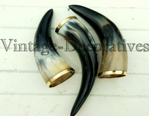 Designer Horn Mug / Glass Viking Drinking Horn Mug Cup Beer Wine Mead
