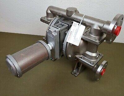 Wilden Px200 Advanced - Stainless Steelaluminumviton Flanged 1 Diaphragm Pump