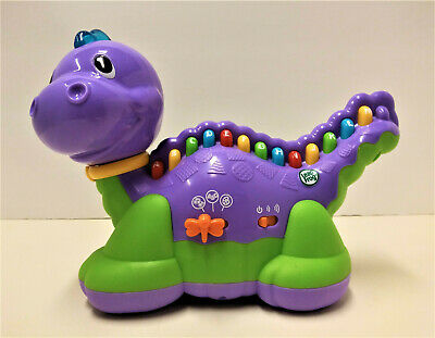 Leap Frog LETTERSAURUS Learning Dinosaur Purple ABCs Alphabet Toy