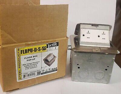 CANTEX 5133678 Floor Box Cover,Duplex,Bronze,PVC