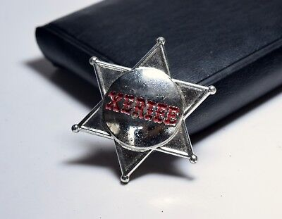 Vintage XERIFE Brooch Pin For Sheriff Cowboy - Cowboy Costume For Female