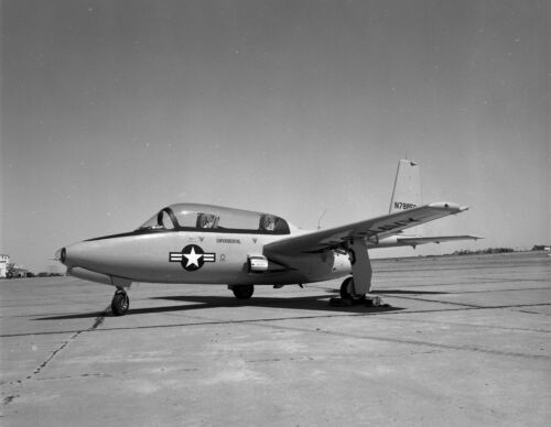 "5647 Original 4X5"" Negative Vintage Military Aircraft Temco TT-1"