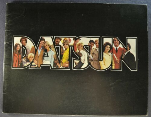1978 Datsun 42pg Brochure 280-Z 510 810 B-210 F-10 200-SX Pickup Original 78