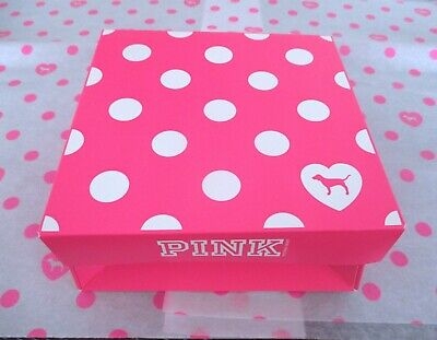 Polka Dot Paper (Victoria's Secret PINK Polka Dot Holiday Gift Box with Tissue Paper Included)