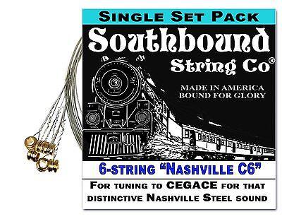 6-string Electric Lap Steel Guitar String Set: