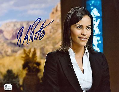 Paula Patton Signed Gai Coa Rare Sexy 8X10 Photo Auto Autographed Autograph Jsa