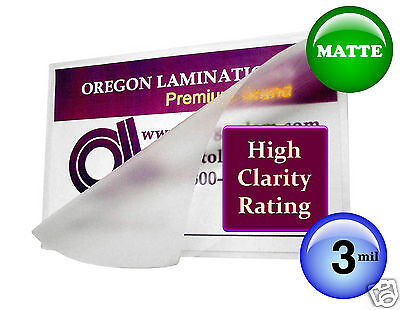 Hot 3 Mil Matte Letter Laminating Pouches 9 X 11.5 25 By Oregon Laminations