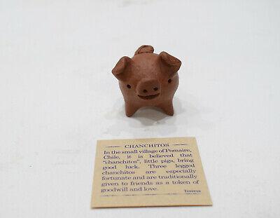 Pig Three Legged Chilean Good Luck Pig Brown
