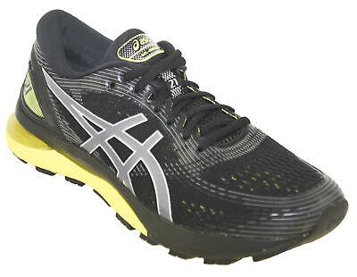 Asics Men's Gel-Nimbus 21 Running Shoe Style 003 Black/Lemon Spark