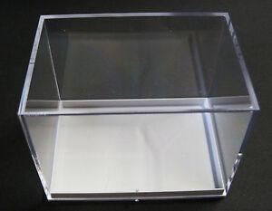 Plexiglas vitrine modelbouw