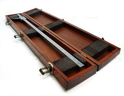Brown Sharpe 26 Vernier Caliper 582 .001 Grad In Original Case. Made In Usa