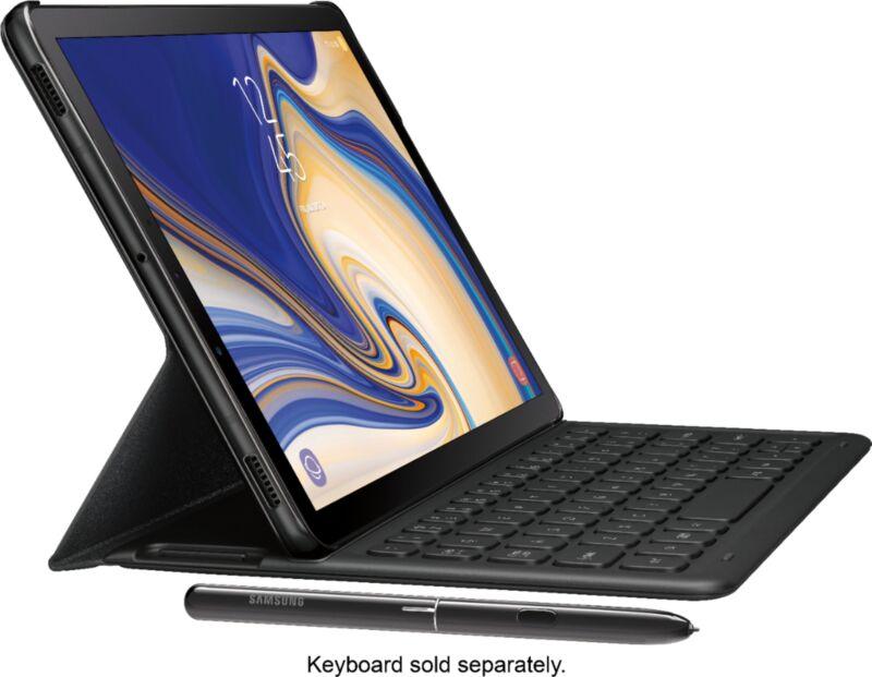 """Samsung Galaxy Tab S4 10.5"""" 64GB Black SM-T830NZKAXAR"""