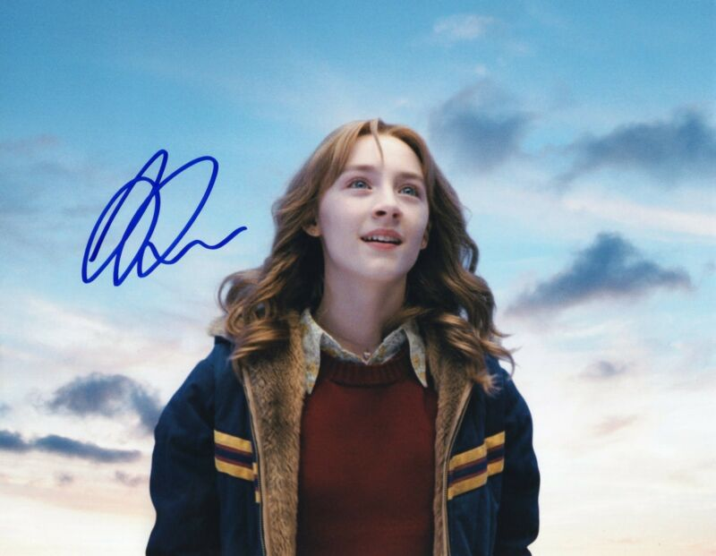Saoirse Ronan The Lovely Bones Susie Salmon Signed 8x10 Photo w/COA