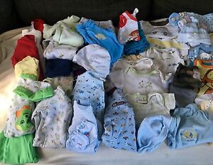 NB - 0-3 Months Boy Clothing Lot
