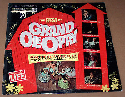 Vintage The Best Of The Grand Ole Opry LP Record - CSM-1047 Columbia