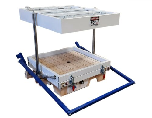 """Vacuum former 18""""x18"""" (460x460mm),Thermoforming Machine, Vacuum forming machine"""