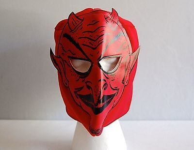 DEVIL Red LUCHADOR KIDS Mask lucha libre wwe libre Halloween NEW - Luchador Halloween Costume