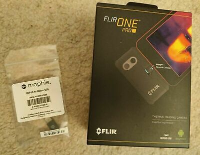 Flir One Pro Lt Thermal Imaging Camera For Android Micro Usb Usb-c Connector