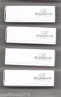 5 New Box   Matchbooks Bellagio Hotel  Casino Las Vegas NV