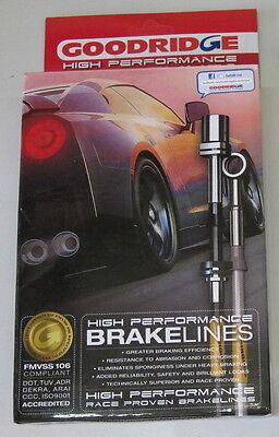 Stahlflex Bremsleitungen Mercedes SL (W(R)129) alle - mit ABE - eintragungsfrei