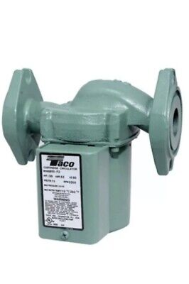 Taco 005-f2-3ifc 135 Hp - Circulator Pump - Cast Iron - Rotated Flange