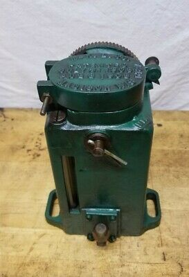 Antique Cast Iron Madison Kipp Mechanical Oiler Hit Miss Steam Engine