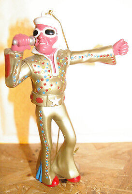 """Original Wackel Elvis, Wackelfigur Elvis, gold """"shaking man"""""""