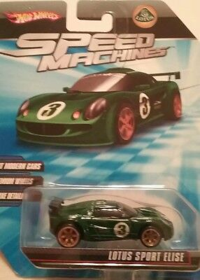 Hot Wheels Speed Machines LOTUS SPORT ELISE green