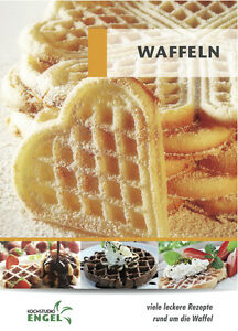 waffeln geeignet f r thermomix vorwerk tm5 tm31 tm21 waffel kochstudio engel neu ebay. Black Bedroom Furniture Sets. Home Design Ideas