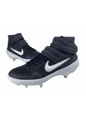 Nike Alpha Huarache Elite 2 Mid Mens Baseball Cleats Blue Size 9.5 AJ6874 001 - $48.99