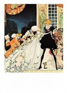 1975 Original Vintage Kay Nielsen Art Deco Nouveau Print