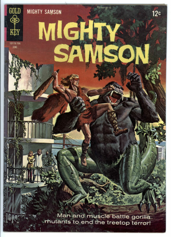 MIGHTY SAMSON # 10