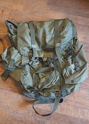 Genuine US Medium Alice Pack With Shoulder Straps LC-2 OD Green - FREE SHIPPING