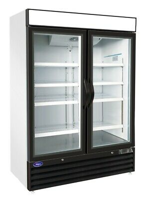 Valpro Vp2f-48 54 48cf 2-door Commercial Glass Merchandiser Ice Cream Freezer