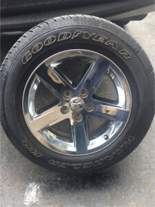 2017 Dodge Ram Rims and Tires 275-60-20