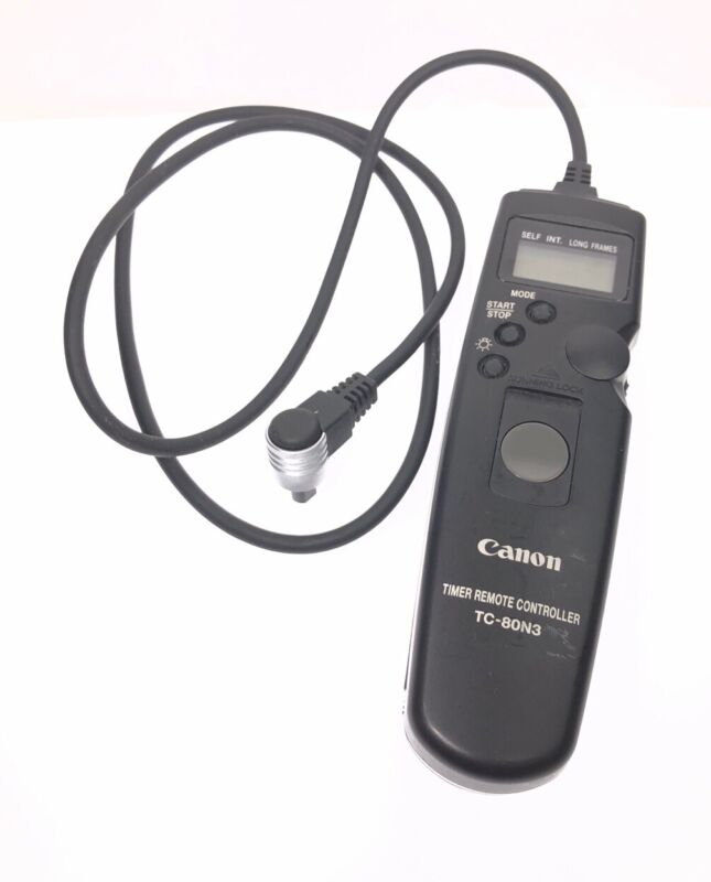 Genuine Canon TC-80N3 Timer Remote Controller Switch (Compatibility In Details)