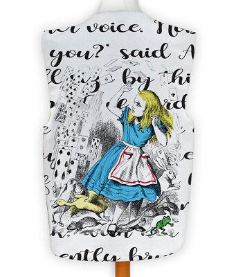 NEUHEIT Weste Kostüm Spass Legere Alice im Wunderland Spielkarten