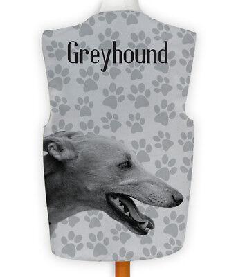 Novelty Waistcoat Fun Fancy Dress Informal Wacky Dog Show Greyhound Paw - Greyhound Kostüm