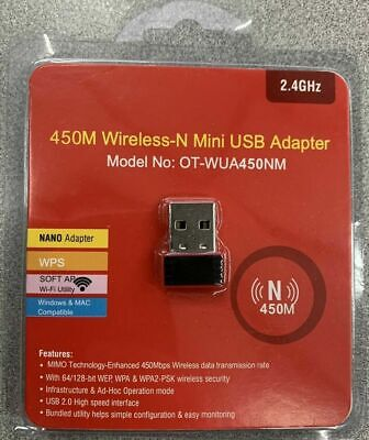 N 300Mbps Mini Wireless USB Wifi Adapter LAN Antenna Network 802.11n/g/b Nano for sale  Shipping to South Africa