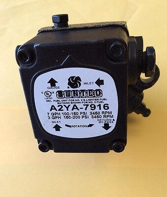 New Suntec Oil Burner Pump A2ya7916 Beckett Wayne Free Expedited Shipping