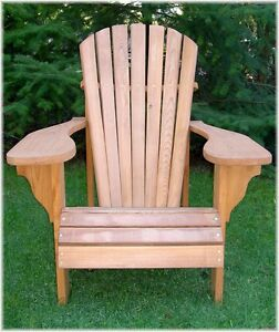 adirondack chair plans ebay