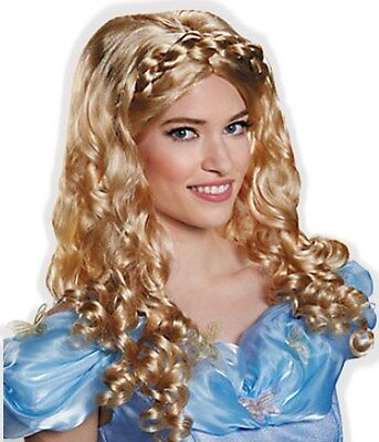 Little Girl Costumes For Adults (Beautiful Blond Sparkly Princess Wig for Adult Little Girl Sissy Dress up)
