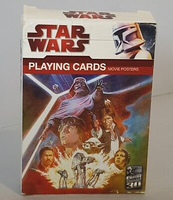 Star Wars 30Th Anniversary Empire Strikes Back Movie Posters Playing Cards 2009