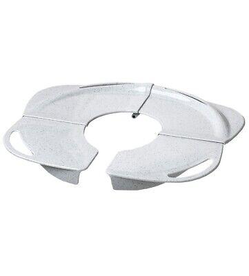 PRIMO Folding Potty with Handles, White granite,  training toilet, toddler -